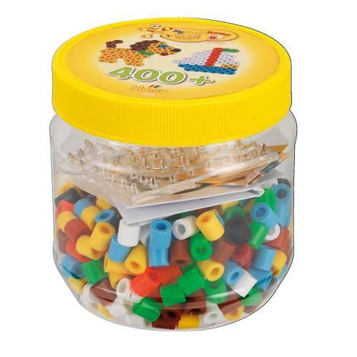 Hama Beads Maxi 8790 400 Beads & Pegboards Tub