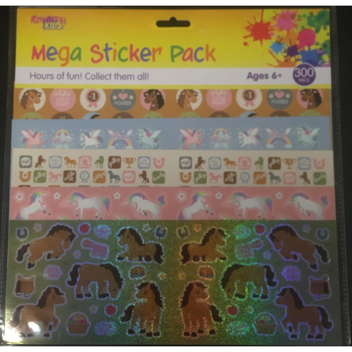 Mega Sticker Pack - Horses