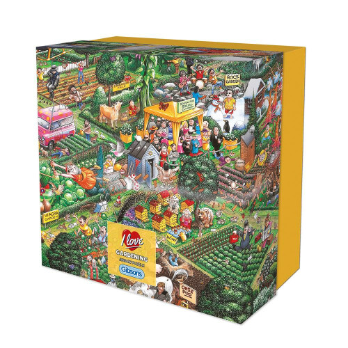 Gibsons I Love Gardening 500pc Gift Box