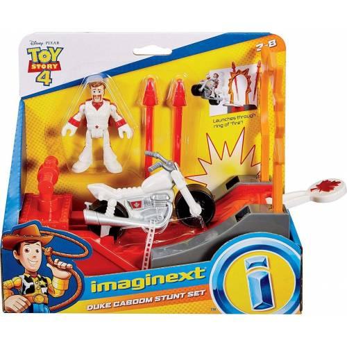 Imaginext Toy Story - Duke Caboom Stunt Set