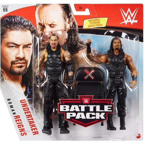 WWE Battle Pack - Series #66 - Undertaker & Roman Reigns