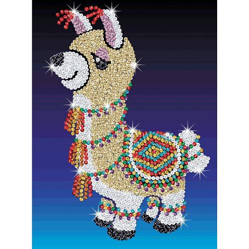 Sequin Art Limited. Sequin Art Red Lou-Lou the Llama 1801