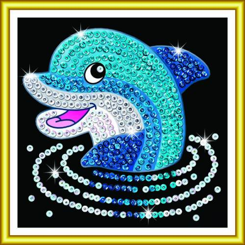 Sequin Art Ltd. Sequin Art 60 Dolphin 1327