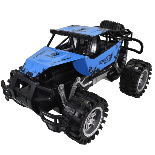 Rock Crusher 4x4 Metal Off Road Vehicle 30cm - Blue