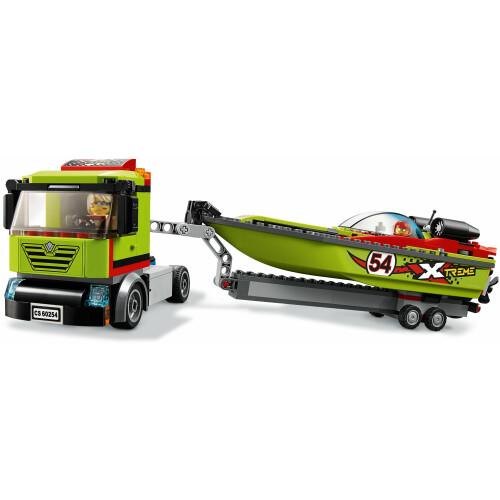 Lego 60254 City Race Boat Transporter