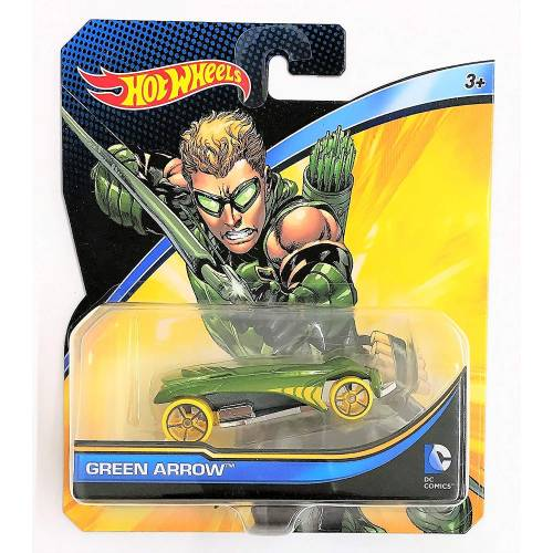 Hot Wheels DC Comics Character Vehicles - Green Arrow