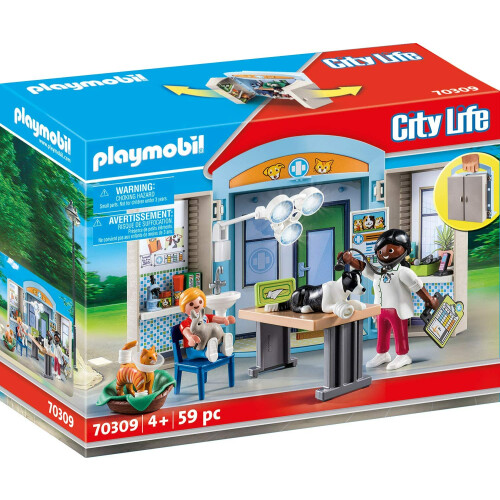 Playmobil 70309 City Life Vet Clinic