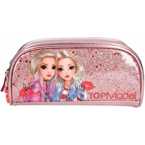 Depesche Top Model Pencil Case, Friends Pink