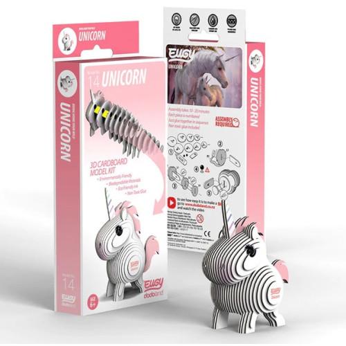 Eugy - 3D Model Craft Kit - Unicorn