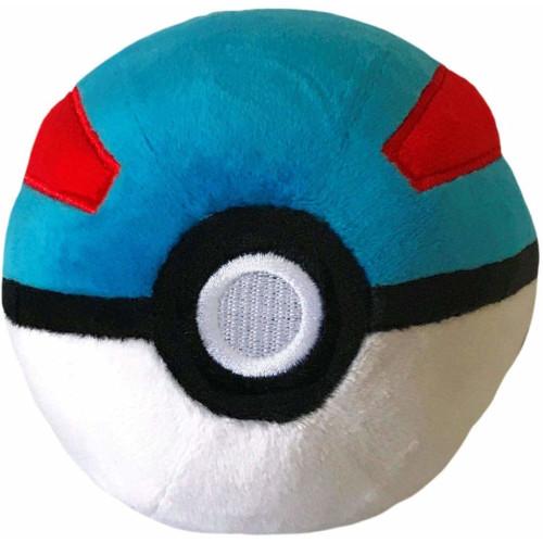 Pokemon 4 Inch Plush - Great Ball