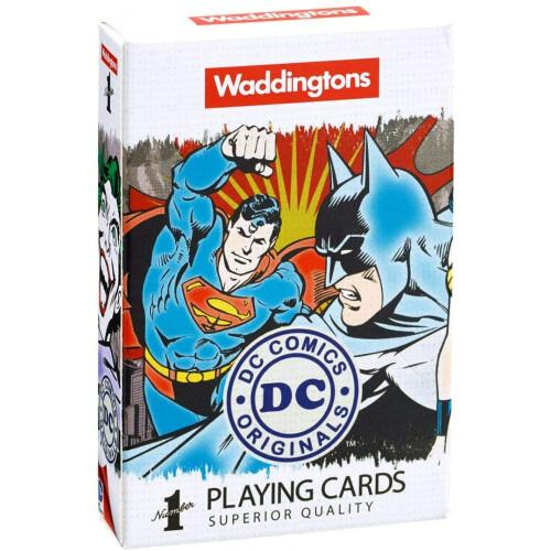 Waddingtons Playing Cards - Dc Comics Retro