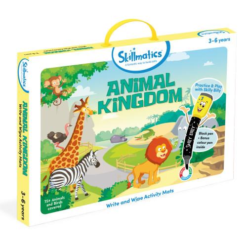Skillmatics Activity Mats - Animal Kingdom