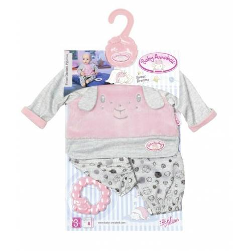 Baby Annabell Clothing - Sweet Dreams Pyjamas