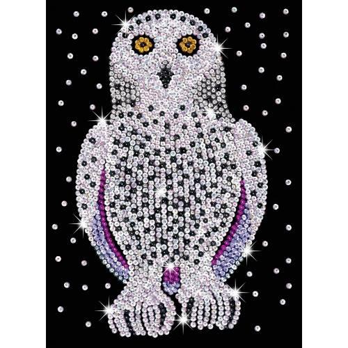 Sequin Art Limited. Sequin Art Blue Snowy Owl 1604