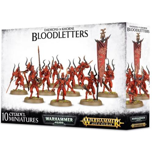 Warhammer Age of Sigmar - Daemons of Khorne Bloodletters