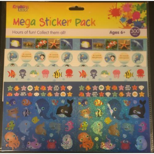 Mega Sticker Pack - Sealife