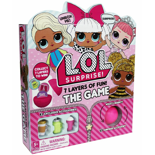 L.O.L. Surprise! 7 Layers of Fun! The Game