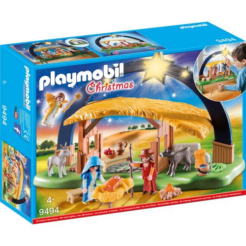 Playmobil 9494 Christmas Illuminating Nativity Manger