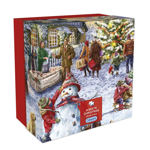Gibsons A White Christmas 500pc Gift Box