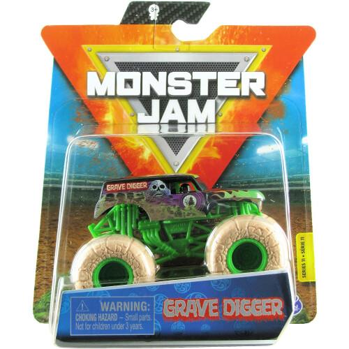 Monster Jam 1:64 - Grave Digger (Elementals)