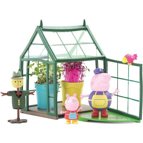 Peppa Pig Grandpa Pigs Greenhouse
