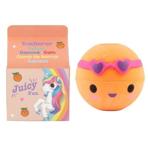 Depesche Ylvi & the Minimoomis Fruit Eraser - Orange