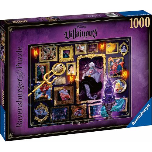Ravensburger Disney Villainous 1000pc Puzzle - Ursula
