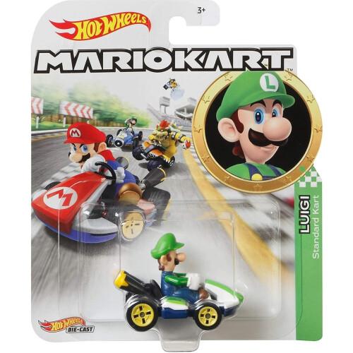 Hot Wheels Mario Kart - Luigi (Standard Kart)