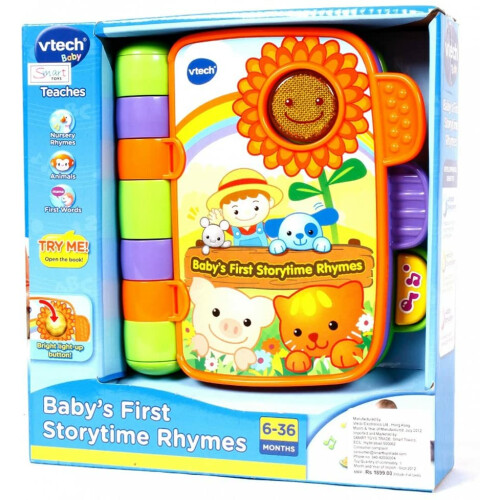 Vtech Baby's First Storytime Rhymes