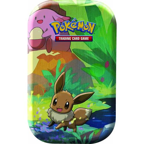 Pokemon TCG Kanto Friends Mini Tin - Eevee