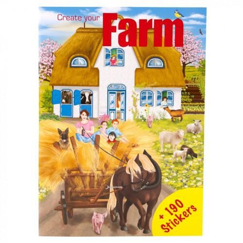 Depesche Create Your Mini Stickerworld - Farm