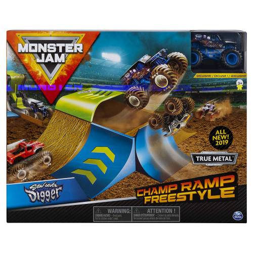 Monster Jam Champ Ramp Playset