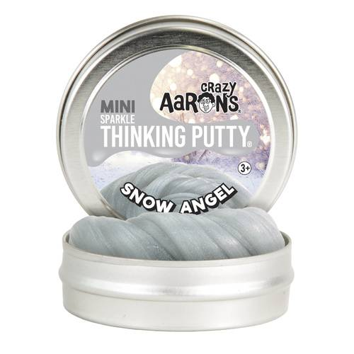 Crazy Aarons Thinking Putty Mini - Snow Angel