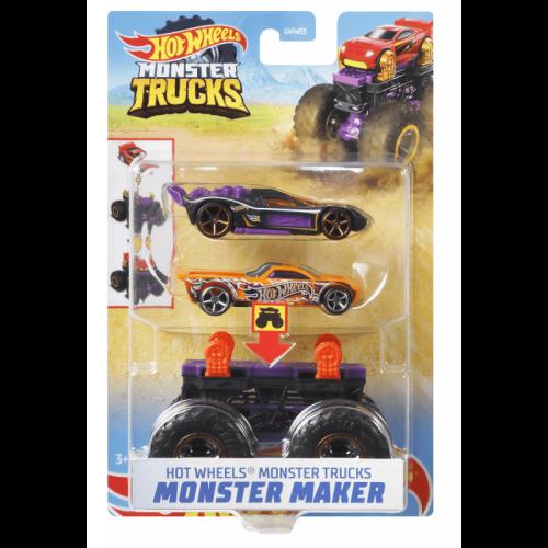 Hot Wheels Monster Trucks Monster Maker  (GWW16)