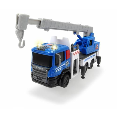 Dickie Toys City Builder - Crane Truck
