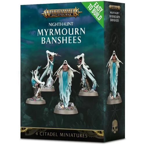 Warhammer Age of Sigmar - Nighthaunt Myrmourn Banshees