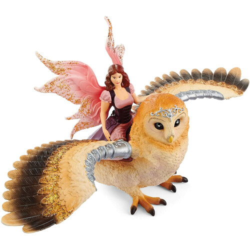 Schleich Bayala 70713 Fairy in Flight on Glam-Owl