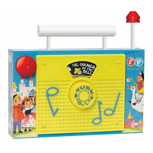 Fisher Price Classic Toys - TV Radio