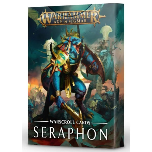 Warhammer Age of Sigmar - Warscroll Cards Seraphon
