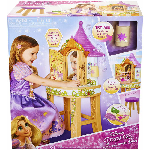 Disney Princess - Rapunzel Tower Vanity