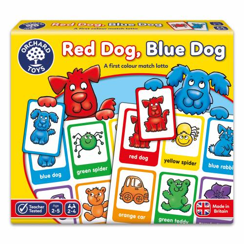 Orchard Red Dog Blue Dog