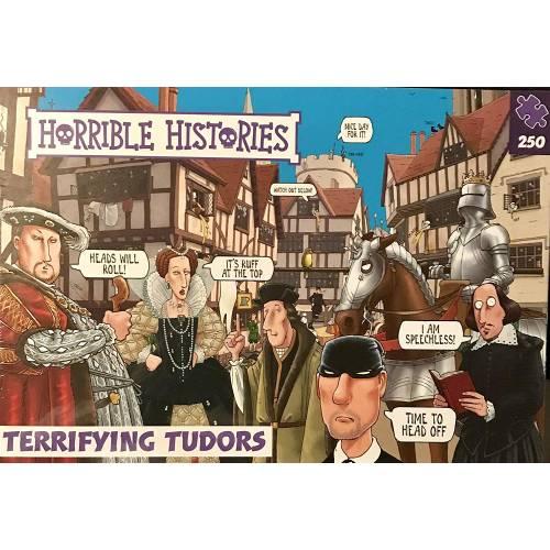 Horrible Histories - Terrifying Tudors 250pc Puzzle