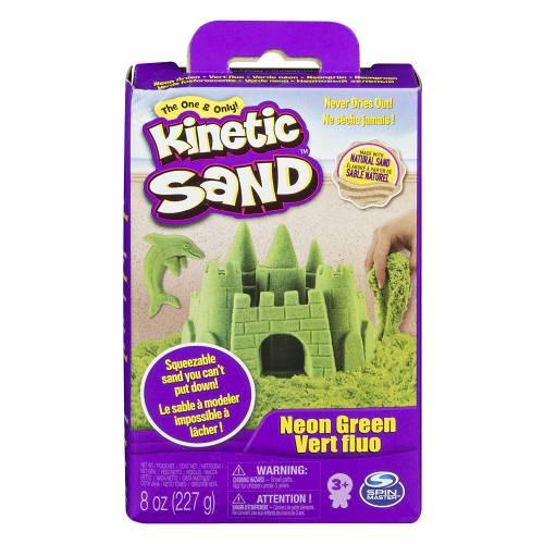 Kinetic Sand Green 8oz Box