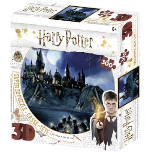 Harry Potter Super 3D Puzzle 300pc - Hogwarts
