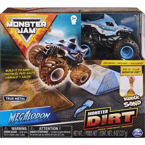 Monster Jam Dirt Starter Set Megalodon