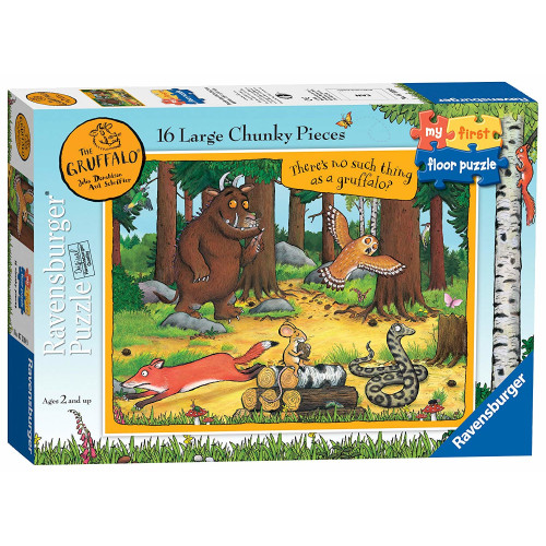 Ravensburger My First Floor Puzzle 16 Large Chunky Pieces The Gruffalo