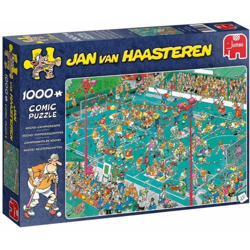 Jan Van Haasteren Hockey Championships 1000pc Jigsaw Puzzle