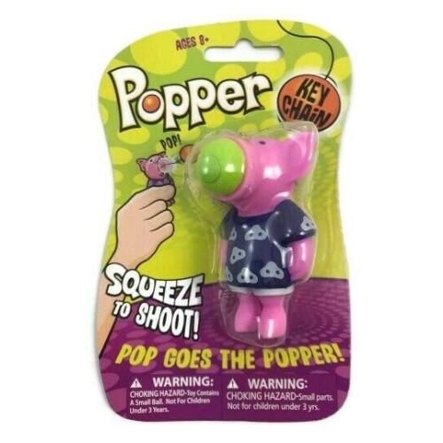 Popper Key Chain - Pig