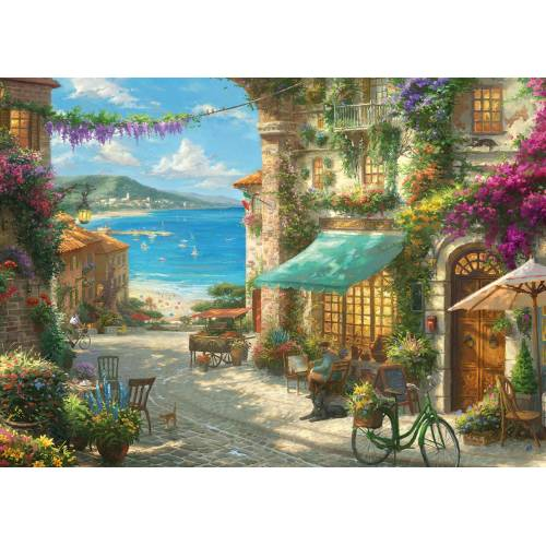 Gibsons Thomas Kinkade Italian Cafe 1000pc