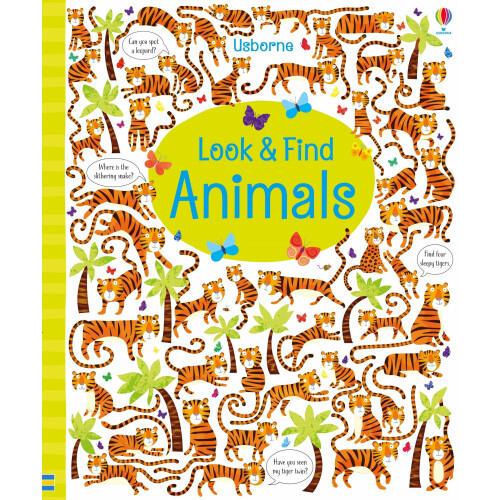 Usborne Books - Look & Find Animals